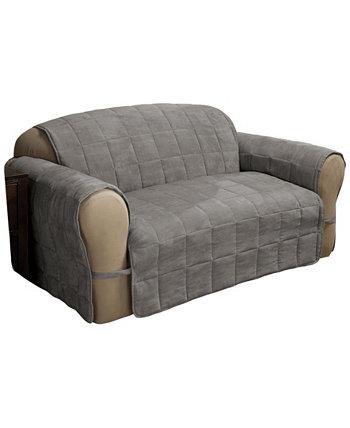 Защитная пленка для любовного сиденья из искусственной замши Ultimate Loveseat Protector P/Kaufmann Home