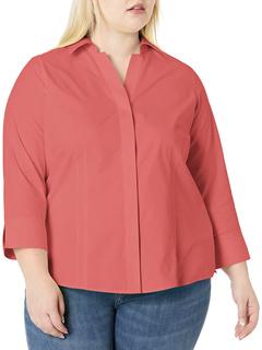Taylor Plus Non-iron Pinpoint Shirt FOXCROFT