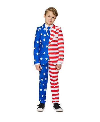 Биг Бойз США Флаг Американа Костюм Suitmeister