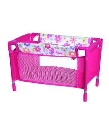 Кровать для детской куклы Playpen Adora
