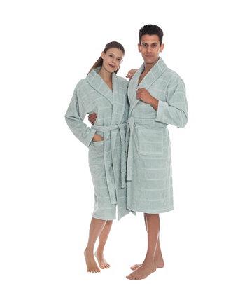 Хлопковый турецкий банный халат унисекс Mirage OZAN PREMIUM HOME