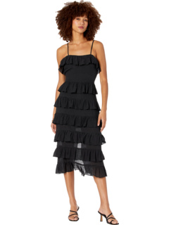 Verity Strappy Frill Dress MINKPINK
