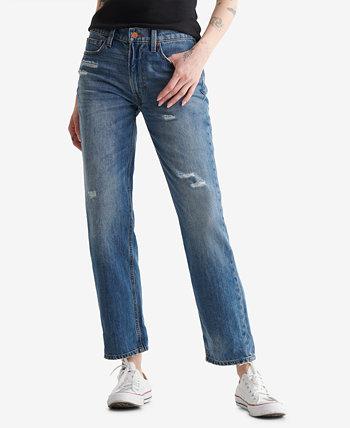 Женские джинсы для мальчиков со средней посадкой Lucky Brand