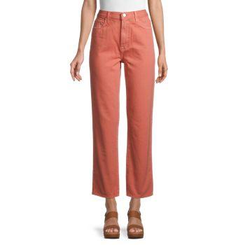 Прямые джинсы Jules с высокой посадкой J Brand