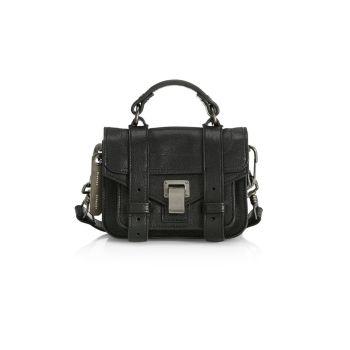 Кожаная сумка-портфель Micro PS1 Proenza Schouler