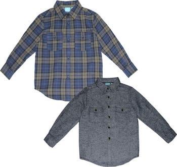 Тканые рубашки с длинным рукавом - 2 шт. BEAR CAMP