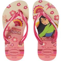 Тонкие Вьетнамки Princess (Малыш / Маленький ребенок / Большой ребенок) Havaianas Kids