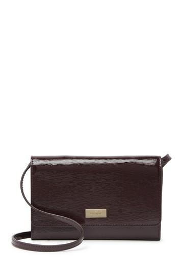 кожаная летняя сумка через плечо Kate Spade New York