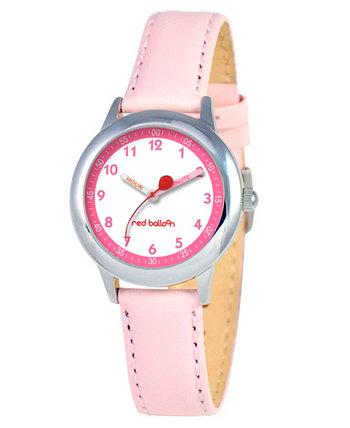 Часы для учителя времени из нержавеющей стали для девочек Red Balloon Ewatchfactory