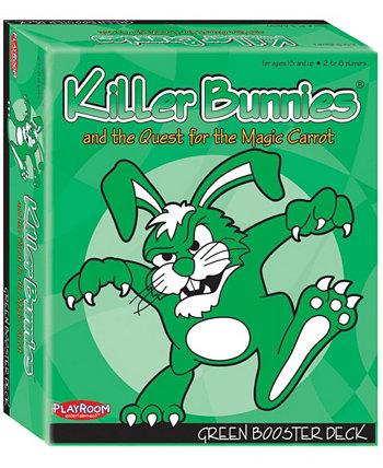 Кролики-убийцы и поиски волшебной моркови - зеленая бустерная колода (6) Playroom Entertainment