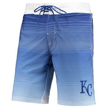 Men's G-III Sports by Carl Banks Royal Kansas City Royals Defense Swim Trunk G-III