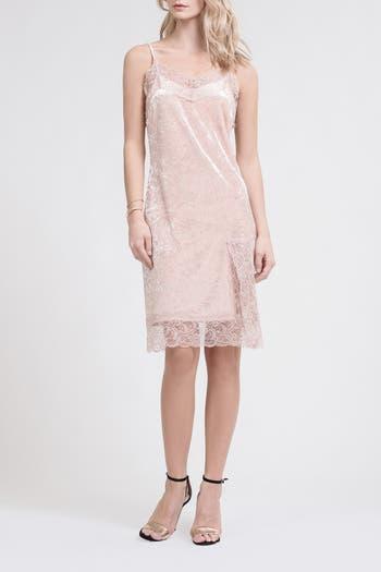 Lace Trim Sleeveless Dress J.O.A.