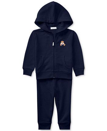 Ralph Lauren Baby Boys с капюшоном и брюки Ralph Lauren