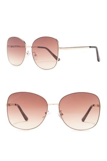 Солнцезащитные очки овальной формы 60 мм Vince Camuto