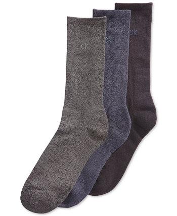 3 пары мужских носков на хлопковой подушке Calvin Klein
