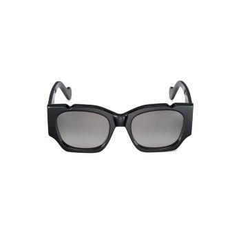 Прямоугольные солнцезащитные очки 54 мм FENTY