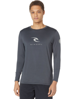 Свободная футболка с длинными рукавами и ультрафиолетом Icons Rip Curl
