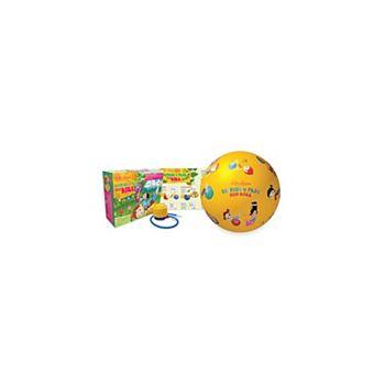 Wai Lana Productions 603 Little Yogis Stretch and Play Eco Ball Wai Lana Productions