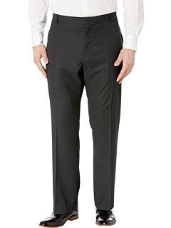 Классические брюки в классическом стиле с длинными железными вставками Perry Ellis Portfolio