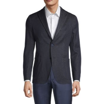 Denim-Look Jersey Sportcoat BOGLIOLI