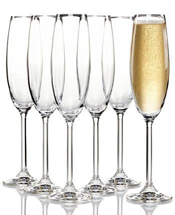 Набор из 6 фужеров для шампанского Тоскана Lenox