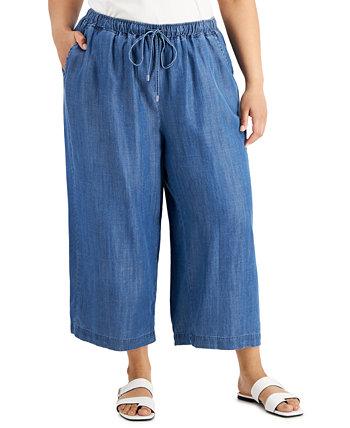 Широкие брюки больших размеров Calvin Klein