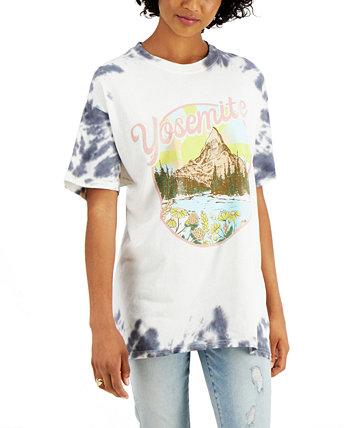 Хлопковая футболка Yosemite с принтом тай-дай для юниоров Love Tribe