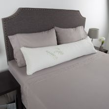 Portsmouth Home Charcoal Infused Memory Foam Body Pillow Portsmouth Home