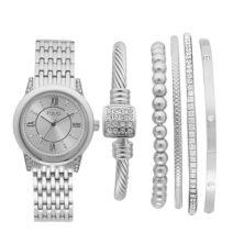 Женские часы и браслет Folio с кристаллами Folio