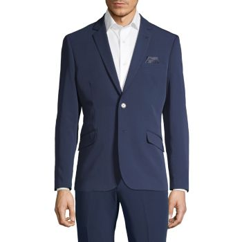 Extra Slim-Fit Solid Suit Jacket NHP