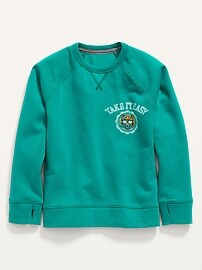 Винтажный пуловер с круглым вырезом для мальчиков Old Navy