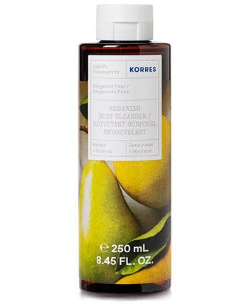 Bergamot Грушевое очищающее средство для тела, 8.45 унций KORRES