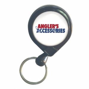 Аксессуары рыболова Deluxe Pin-On Retractor Angler's Accessories