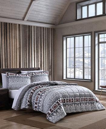 Комплект стеганого стеганого одеяла в полоску Clyde Hill, King, 2 предмета Eddie Bauer
