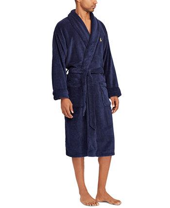 Мужская пижама из мягкого хлопка кимоно велюровая одежда Ralph Lauren