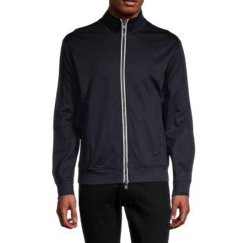 Double-Zip Track Jacket Emporio Armani