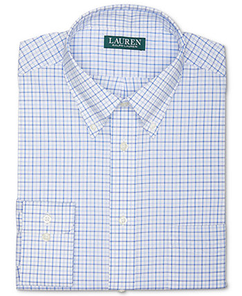 Мужская классическая рубашка в клетку Ultraflex без железа стандартного кроя Ralph Lauren