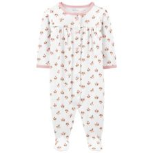 Baby Girl Carter's Floral Snap Sleep & Play Carter's
