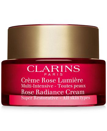 Супер Восстанавливающий Крем Роза Сияние, 1,7 унции. Clarins