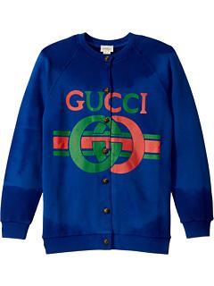 GG JG с длинным рукавом кардиган (маленькие дети / большие дети) Gucci Kids