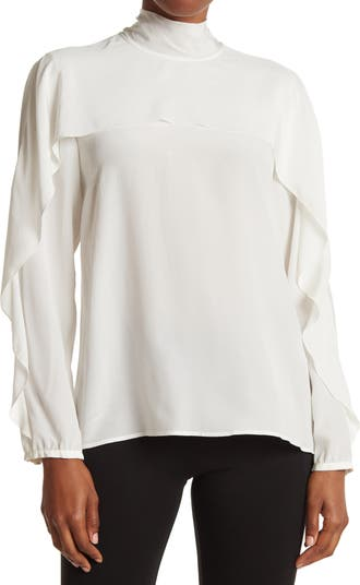 Блуза с завязками на шее RED VALENTINO