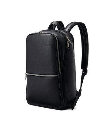 Классический кожаный рюкзак Slim Samsonite
