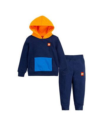 Толстовка с капюшоном и штаны с пуловером для маленьких мальчиков, комплект из 2 предметов LEGO®