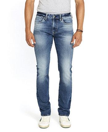 Мужские зауженные джинсы из денима стрейч Buffalo David Bitton