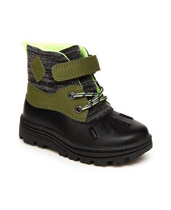Новые модные ботинки для маленьких мальчиков Carter's