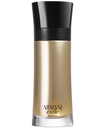 Armani Code Absolu Eau de Parfum Spray, 6,7 унций. Giorgio Armani