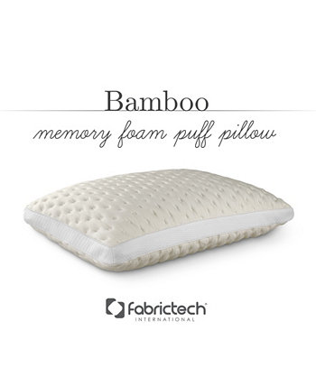 Fabric Tech Bamboo Memory Foam Pillow FabricTech