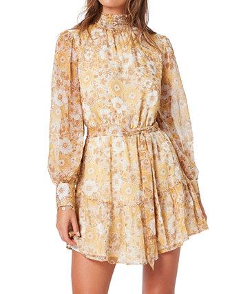 Мини-платье Dacey со складным вырезом MINKPINK