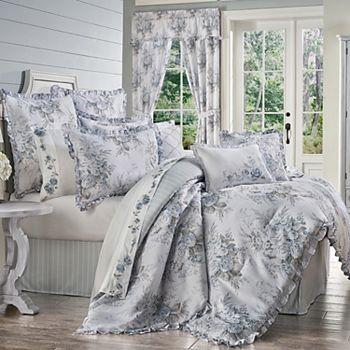 Royal Court Estelle Blue 4-Piece Comforter Set Royal Court