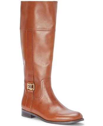 Женские ботинки Berdie с широким голенищем для верховой езды Ralph Lauren